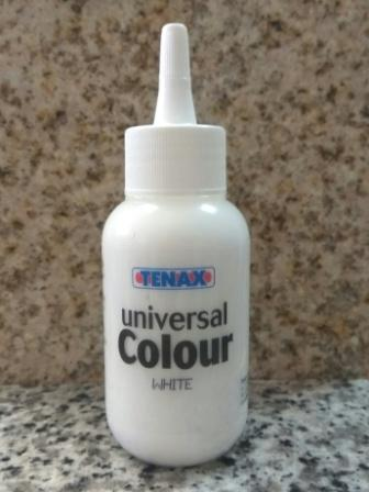 Краситель TENAX COLOUR Universal белый