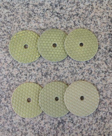 Полировочные диски диам. 125 мм.