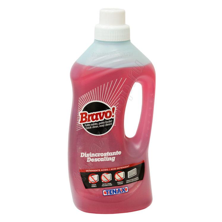 Очищувач Bravo Disincrostante (кислотний) (1л)