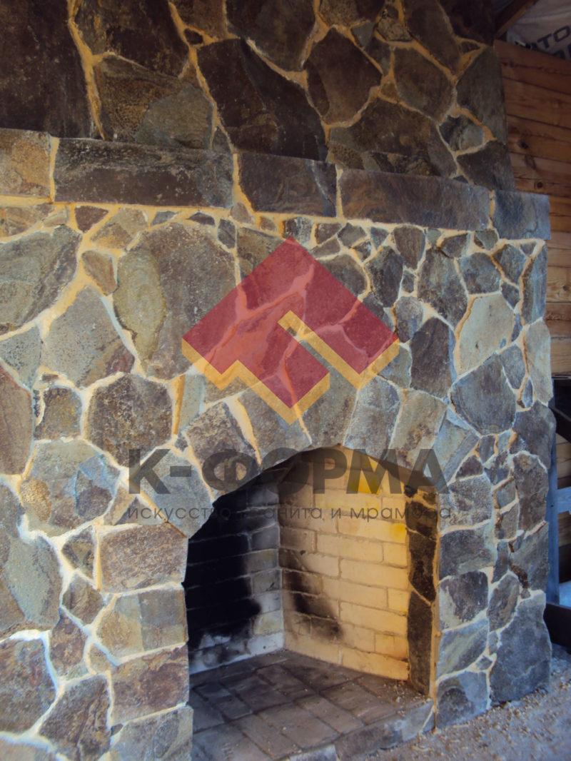 Камин и печь