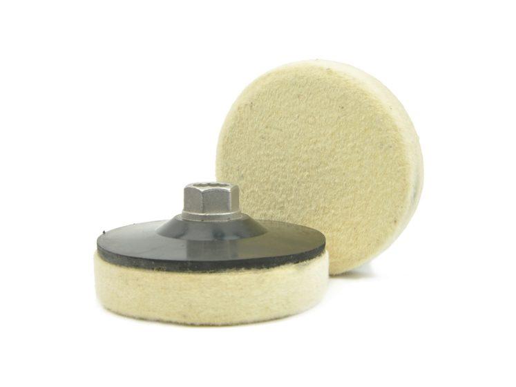 Войлок для полировки 100 мм. тонкий